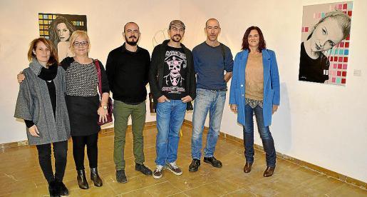 Mari Pau Ruiz, Magdalena Moyà, Steven Vives, Joan Sanz, Antoni Miquel Morro y Caterina Vallés.
