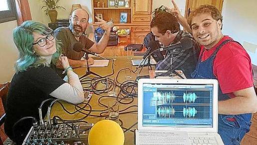 Selene Ribas, Lluís Ferrer, Dirk Gastón e Ismael del Valle.