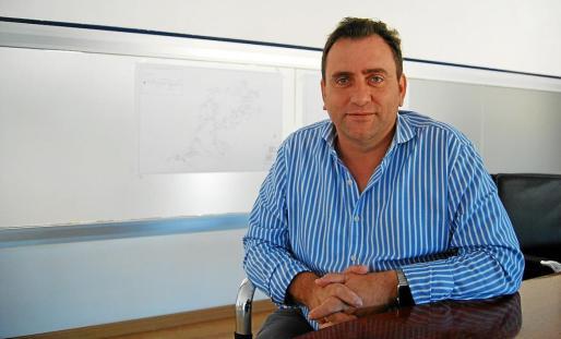 El fundador de Wifi Baleares, Francisco Alcalde.