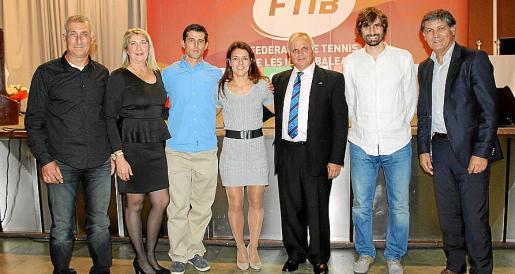Pep Abrines, Mar Lluch, Ramiro Sueiro, Nuria Llagostera, Antoni Ferragut, Carles Gonyalons y Toni Nadal.