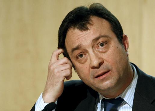 Manuel Cobo, durante una rueda de prensa tras la reunión semanal de la Junta de Gobierno del Ayuntamiento de Madrid.