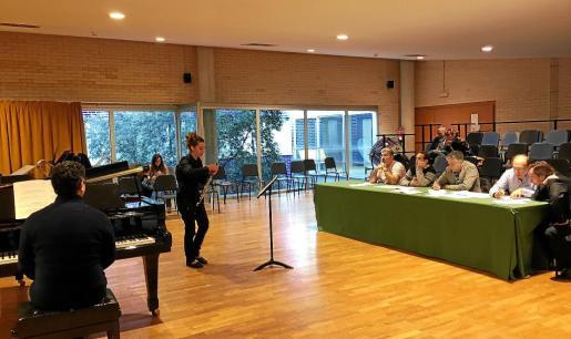 Las pruebas de acceso a la Academia de la Simfònica se realizaron hace unas semanas en el Conservatori Superior de Música de Balears.