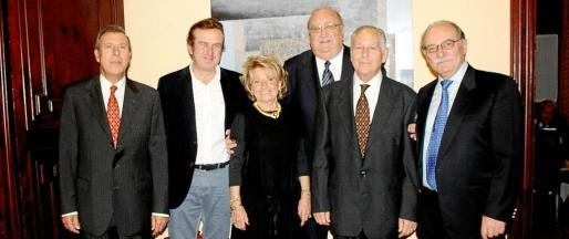 Mariano Marqués, Mariano Mayol, Marieta Morell, Guillermo Dezcallar, Lluís Marqués y José Novas.