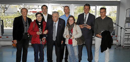 Miguel Soler, Juan Carlos García, Sebastiana Carbonell, Pere A. Serra, Miguel Ángel Clar, Amaya Michelena, Jason Moore y Santi Viedma.