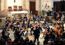 La Jove Orquestra Balear, durante un concierto.