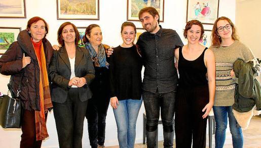 Elena García-Valdés, Minuca Bethencourt, Alicia Martínez-Hermosilla, Joana Pol, Pere Bestard, Elena Lalucat y Laura Lalucat.