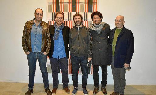 José Fiol, Tomàs Pizà, Gonzalo Elvira, André Ricardo y Joan Soler.