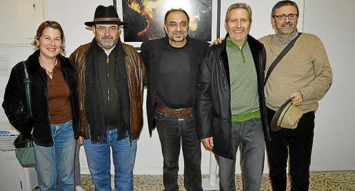 Dolors Martí, Luis López, Miquel Segura, Llorenç Ferragut y Anthel Blau.