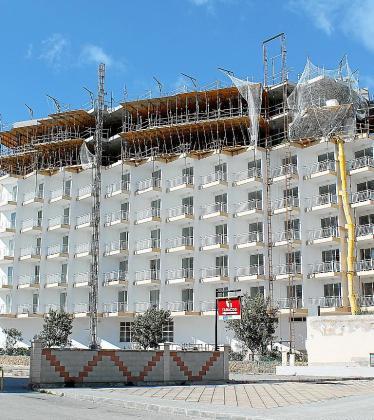 Los hoteles ya no podrán edificar dos plantas extra.