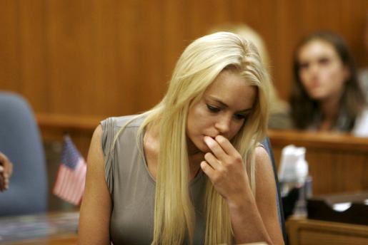 Pese a que ha salido de la cárcel, la joven actriz tiene que pasar ahora por un centro de rehabilitación.