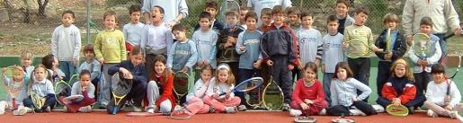 El tenis ocupará la tarde de hoy en Sant Llorenç.
