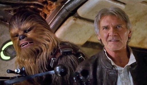 Imagen de Star Wars: El despertar de la Fuerza, que ha superado a Avatar como película más taquillera de la historia de EEUU.