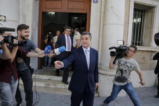Jaume Matas, en una imagen de archivo ante los juzgados de Palma.