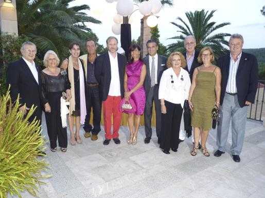 Josep Oliver, Pepita Guimerá, Joana Barceló, Vicente Enguidanos, Ramon Socías, Teresa Castellá, Joan Buades, Aina Morro, Pedro Comas, Marga Suñer y Armando Pomar.