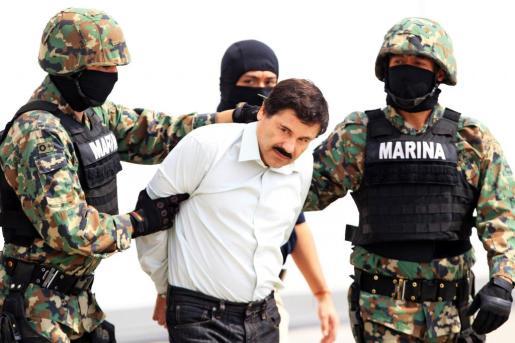 El narcotraficante Joaquin Guzman Loera, alias 'El Chapo', ha sido detenido este viernes.