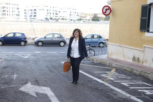 La exconsellera Joana Maria Camps.