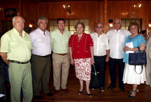 José Cascales, Iluminado Largo, Ramón Torres, Mari Carmen González, Javier Chacón, Constantino Cardo y Nuria Dalmau.