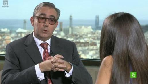 Diego Torres, durante su entrevista en el programa de La Sexta 'El objetivo'.