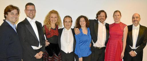 Pablo Mielgo, Philip Dawson, Carmen Fullana, Eduardo Bernabeu, Miriam Merino, Miguel Arola, Christine Schedukat y Jordi Miralles.