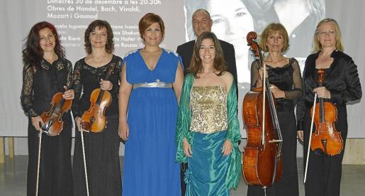 Hannah Shakun, Soriana Ivaniv, Yolanda Riera, Marcela Inguanzo, Andreas Beskow, Ibolya Rózsás y Marta Hatler.