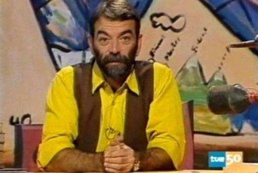 Ignacio Salas, durante su época en TVE.