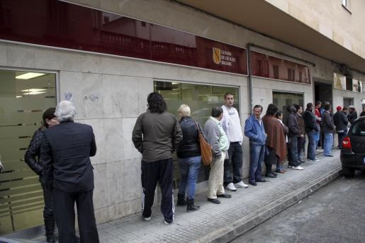 Imagen de una de las oficinas del SOIB en Palma.