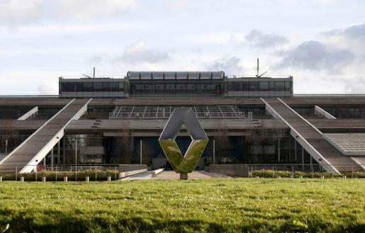 Fábrica de Renault en Guyancourt, derca de París.