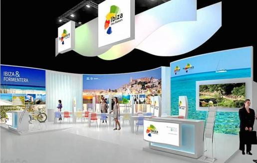 En la imagen, el estand de Eivissa y Formentera del pasado año.