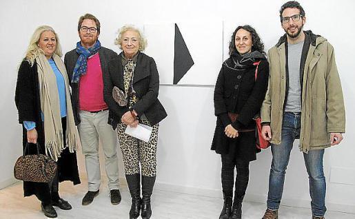 Ana Bárbara Cardellà, Tomàs Pizà, Mª José Corominas, Francesca Masillo y Damià Matas.