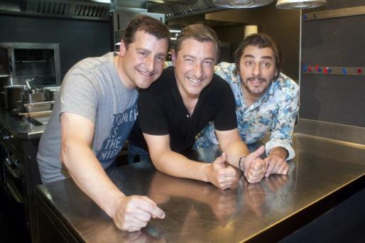 Los hermanos Roca, Josep, Joan y Jordi.