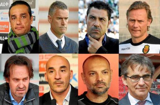 Los técnicos que han pasado por el banquillo del Mallorca.