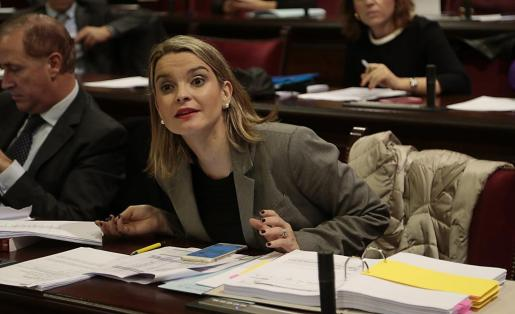 Margalida Prohens, portavoz del Grupo Popular, en una imagen de archivo.