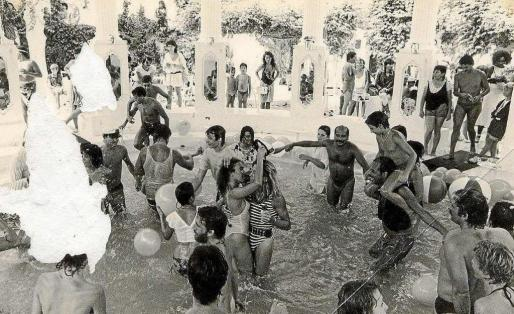 Fiesta en la discoteca Es Paradís en los 80. Foto: Ibiza All in One