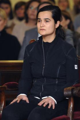 Triana Martínez, durante la segunda jornada del juicio que se celebra en la Audiencia Nacional de León.