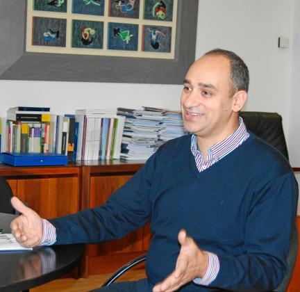 Josep Cifre es el presidente de Colonya Caixa Pollença desde el año 2008.