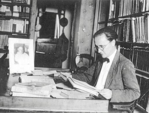 Imagen de archivo del lingüista e impulsor de la Editorial Moll, Francesc de Borja Moll.