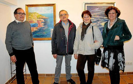 Miguel Ángel Benito, José Luis Fiol, Magdalena Monserrat y Francisca Llabrés.