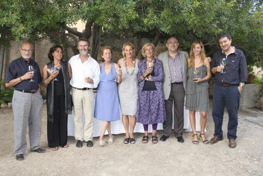 Toni Ferragut, Pilar Cerdà, Joan Costa, Júlia Ramis, Katharina Pfeil, Esther Olondriz, Bartomeu Llinàs, Araceli Servera y Carlos Jover.