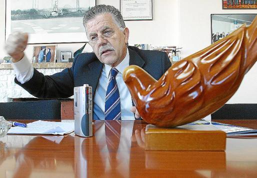 Felipe Navío, presidente de la Asociaciön Española de Compañías Aéreas (AECA).