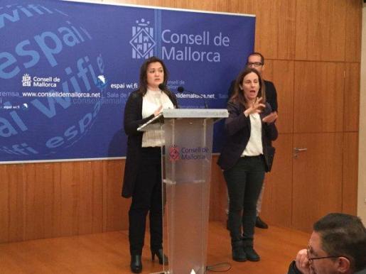 Mercedes Garrido, en la rueda de prensa ofrecida este martes.
