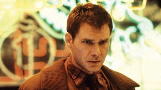 Harrison Ford en su papel de su papel como Rick Deckard, actor confirmado en Blade Runner 2.