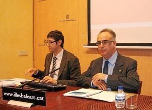 Carles Manera y Andreu Sansó.