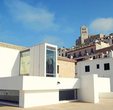 Imagen de archivo de la sede del Museo de Arte Contemporáneo de Eivissa, en Dalt Vila.
