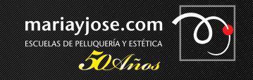 Imagen corporativa del centro de peluquería y estética María y José.