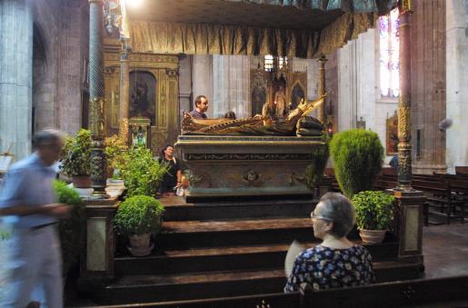 Llit de la iglesia de Santa Eulàlia