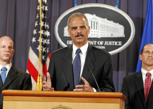 El fiscal general de Estados Unidos, Eric Holder.
