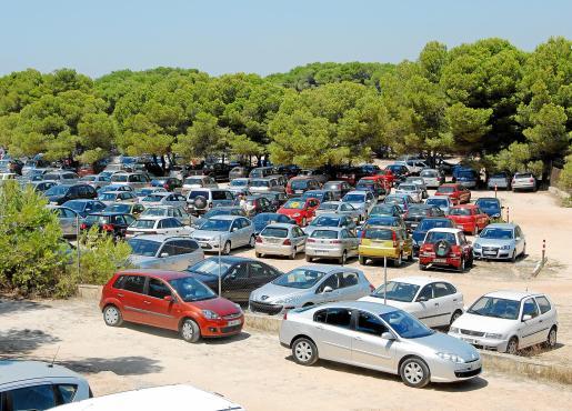 Según Miquel Roig este aparcamiento no cuenta con todos los permisos.