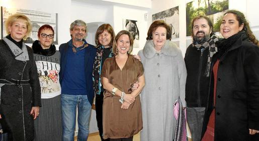 Vanda Kymantrini, Isabel Matas, Carlos Quintana, Montse Querol, Monsina Rosselló,  Dolores Ramírez de Luque, Toni Caimari y Nina Español.