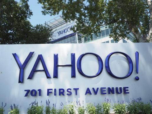Fotografía de archivo tomada el 20 de agosto de 2015 que muestra la sede de Yahoo en Sunnyvale, California.