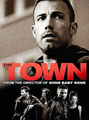 Cartel de 'The Town', de Ben Afleck.